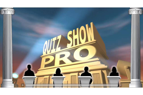 Quiz Show Pro Quick Start - YouTube