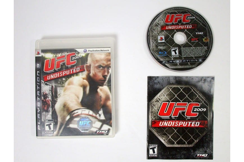 UFC 2009 Undisputed game for Playstation 3 (Complete ...