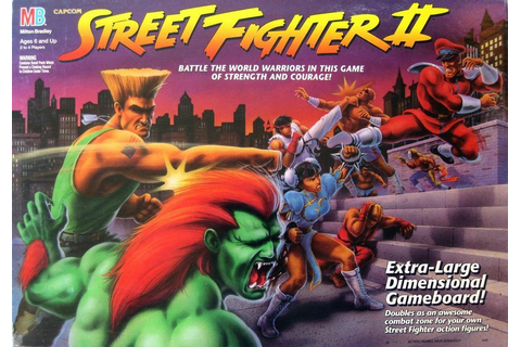 Street Fighter II | Board Game | BoardGameGeek