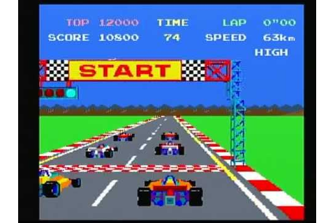 Namco Museum Vol. 1 Pole Position (Playstation) Game Play ...