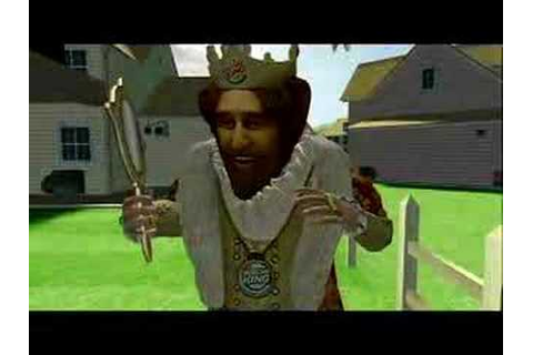 Burger King Sneak King Game for Xbox 360 - YouTube