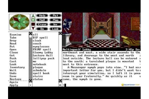 Spellcasting 201 gameplay (PC Game, 1991) - YouTube