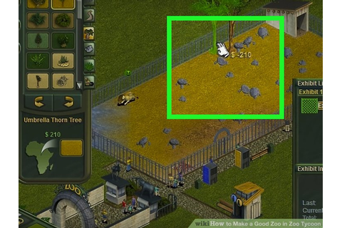 How to Make a Good Zoo in Zoo Tycoon: 10 Steps (with Pictures)