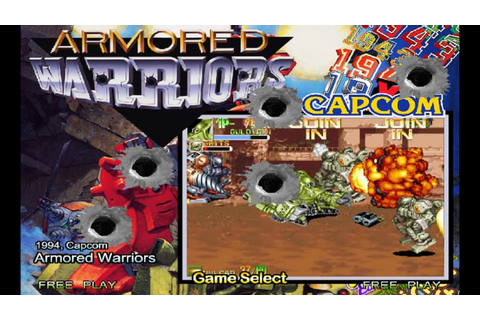 Armored Warriors (1994) Capcom Mame Retrô Arcade Games ...