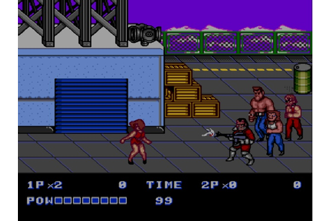 Play Double Dragon II - The Revenge (Japan) for Genesis