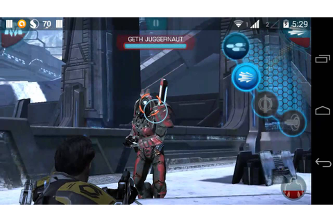 Mass Effect Infiltrator game Android gameplay part 3 - YouTube