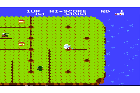 Dig Dug II - Trouble in Paradise (USA) ROM