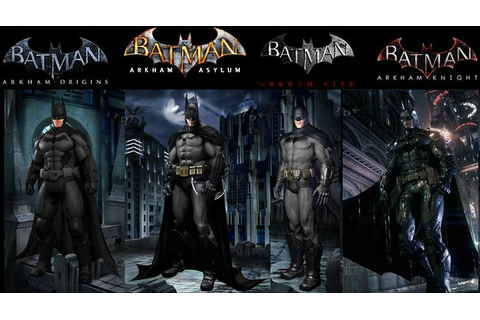 Batman Arkham Games | Superhero Stuff | Pinterest | Arkham ...