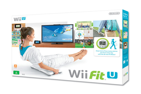 Wii Fit U with Fit Meter (Green) and Balance Board (Wii U ...