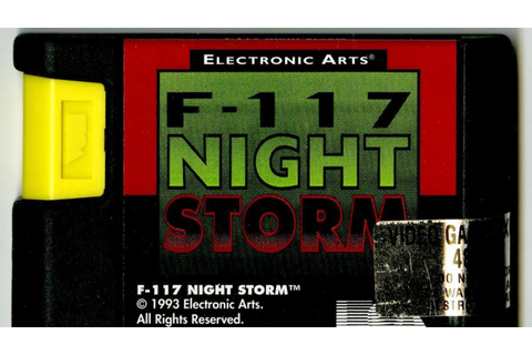 Classic Game Room - F-117 NIGHT STORM review for Sega ...