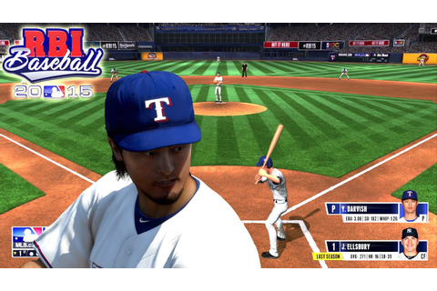 R.B.I. Baseball 15 - {PS4} - New Features, New Roster ...
