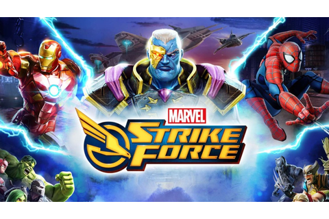 'MARVEL Strike Force' officially launched in Play Store ...