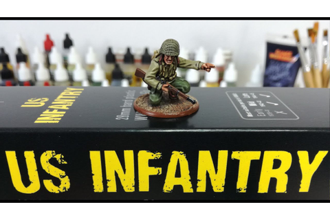 Review: Warlord Games US Infantry - YouTube