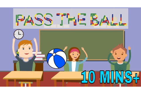 Pass the Ball Game | Pass the Ball Music | ESL Classroom ...