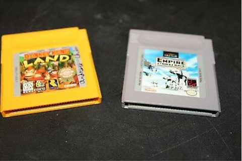Nintendo Game Boy Color Donkey Kong Land and Empire ...