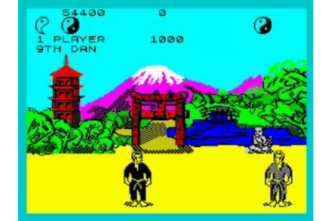 Way of the Exploding Fist Walkthrough, ZX Spectrum - YouTube