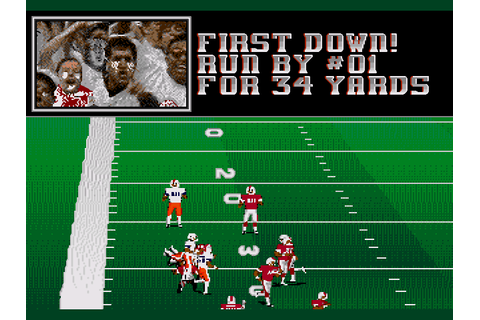 College Football USA 96 Screenshots | GameFabrique