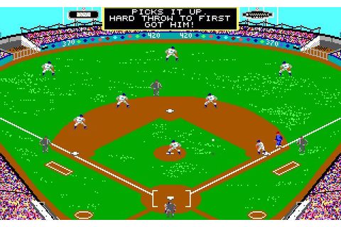 Download MicroLeague baseball sports for DOS (1984 ...
