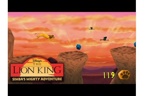 Disneys The Lion King Simbas Mighty Adventure Walkthrough ...