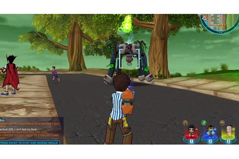 Inside FusionFall, Cartoon Network's New Kid-Friendly MMO ...