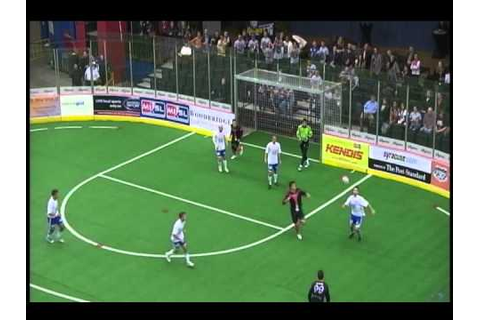 Syracuse Silver Knights game winning goal - YouTube