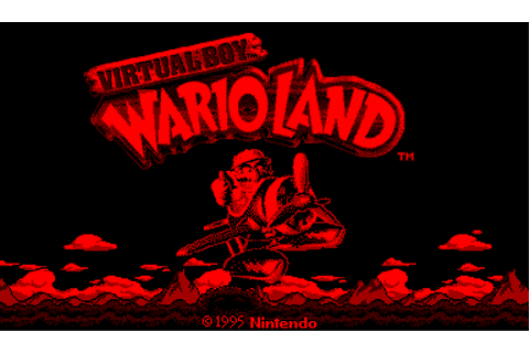 Virtual Boy Wario Land - Download - ROMs - Virtual Boy (VBOY)