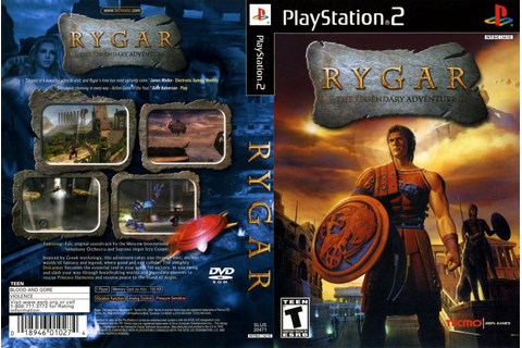 Games Covers: Rygar - The Legendary Adventure - PS2