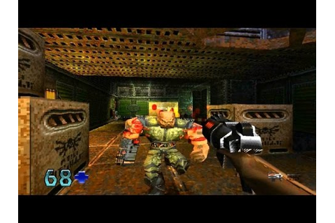 Quake II Game Review (PS1) (1999) - YouTube