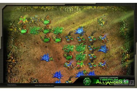 Quick Shots - New Command & Conquer Tiberium Alliances ...
