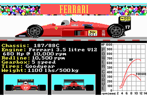 Grand Prix Circuits | Old DOS Games | Download for Free or ...