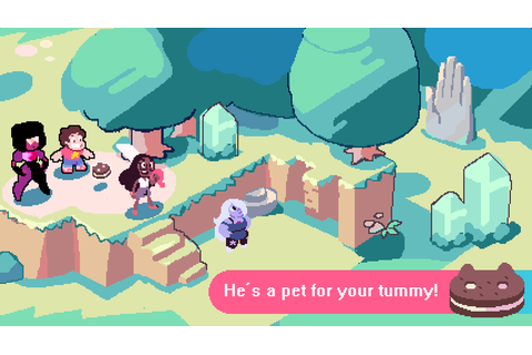 Screenshots from the Steven Universe game that will never be