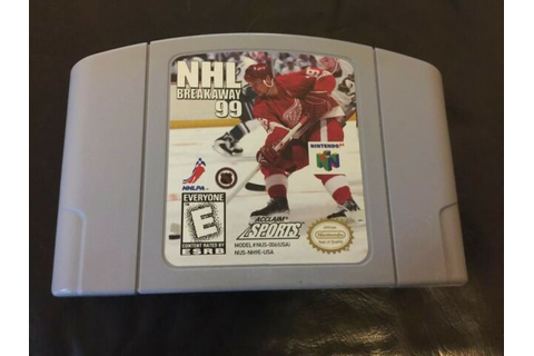 NHL Breakaway 99 (Nintendo 64, 1998) for sale online | eBay