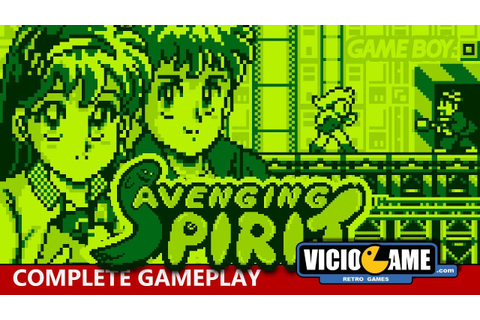 Avenging Spirit (Game Boy) Complete Gameplay - YouTube