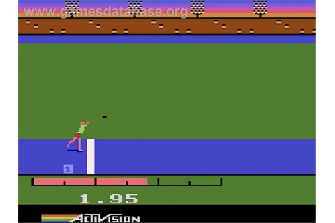 The Activision Decathlon - Atari 2600 - Games Database
