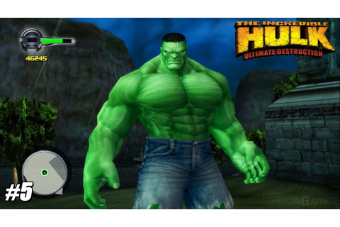 The Incredible Hulk: Ultimate Destruction - PS2 Gameplay ...