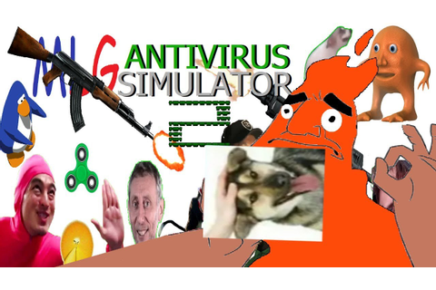 ME PLAYING MY OWN BLASTED GAME!!! - Antivirus Simulator 2 ...