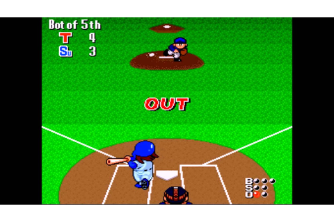 Extra Innings SNES Game Play - YouTube