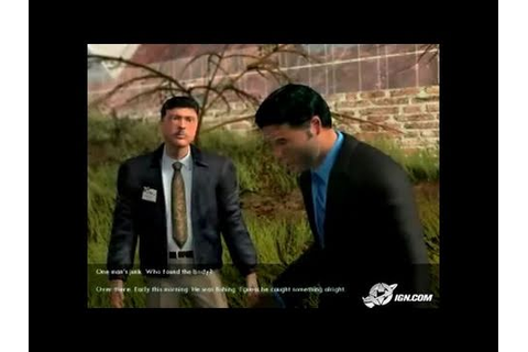 Law & Order: Criminal Intent PC Games Gameplay - - YouTube