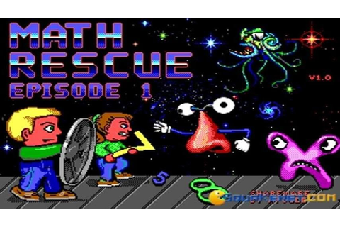 Math Rescue gameplay (PC Game, 1992) - YouTube