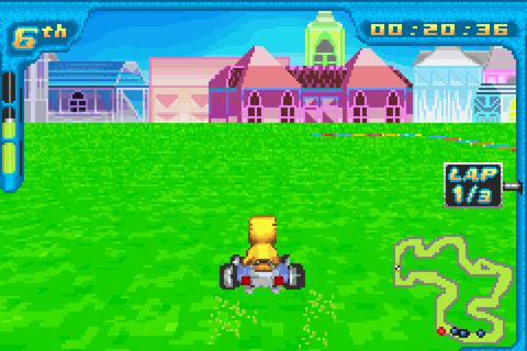 Digimon Racing Screenshots | GameFabrique
