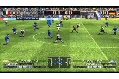Dolphin v.4 0 PC - Virtua Striker 3 V.2002 [GameCube ...
