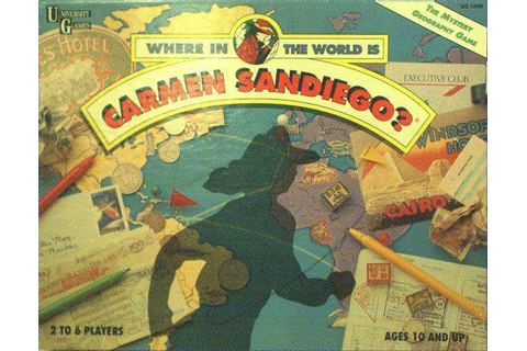 Where in the World is Carmen Sandiego? Mystery Geography ...