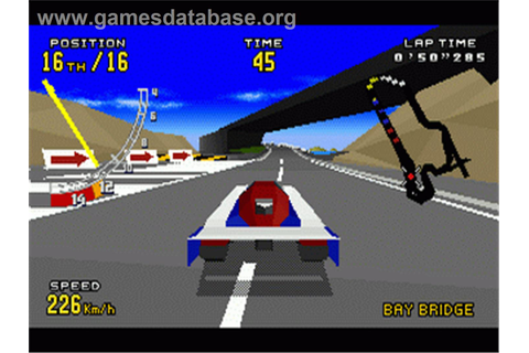 Virtua Racing Deluxe - Sega 32X - Games Database