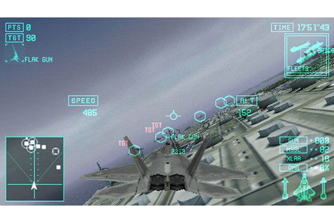 Ace Combat X – Skies of Deception Screenshot – Games und Lyrik