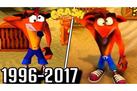Evolution of First Levels in Crash Bandicoot Games (1996 ...