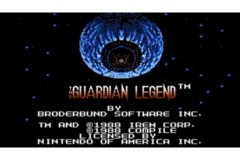 The Guardian Legend - NES Gameplay - YouTube