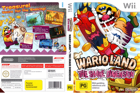 RWLP01 - Wario Land: The Shake Dimension