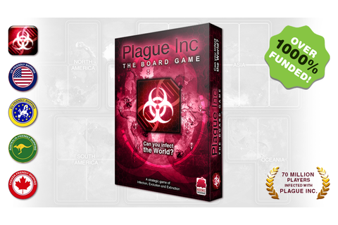 Plague Inc: The Board Game by Ndemic Creations —Kickstarter