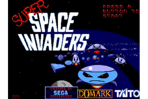 Master System Longplay [115] Super Space Invaders - YouTube