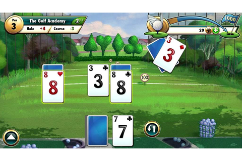 Fairway Solitaire by Big Fish Games Running on Android ...
